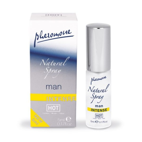 HOT MAN NATURAL PHEROMONE INTENSE SPRAY 5ML